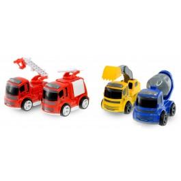 Tovornjaki LITTLE HEROES na vztrajnik