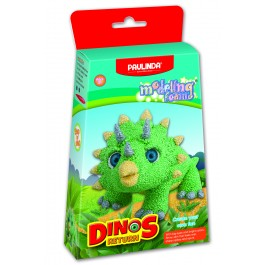 Dinozaver zelen, Dinos return-modelirna pena-plastelin