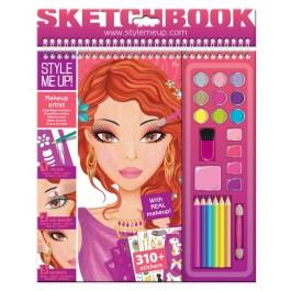 Skicirka Makeup umetnica - Poškodovana embalaža!
