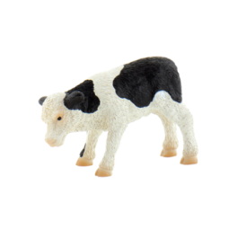 Bullyland teliček črno/bel, 7,5 cm