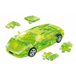 3D Puzzle LAMBORGHINI MURCIELAGO zelen prosojen 1:32