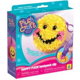 PlushCraft® Happy Face Backpack Clip *NEW*