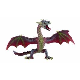 Bullyland leteči ZMAJ rdeče/rjav, 17,8 cm