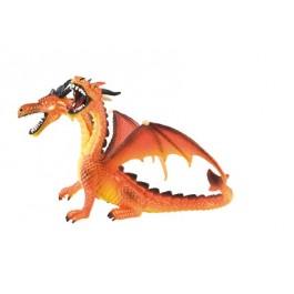 Bullyland DVOGLAVI ZMAJ oranžen, 13 cm