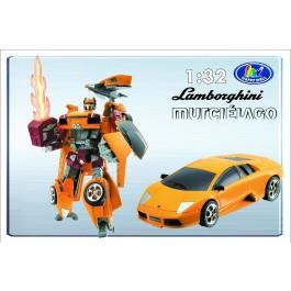 Transformer ROADBOT Lamborghini Murcielago, 1:32 z lučkami