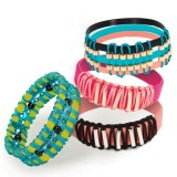 STYLE ME UP! Zavite zapestnice Wrappy bands
