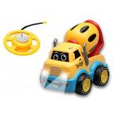 R/C BABY BROOM Gradbeni tovornjak (HRUŠKA) na daljinsko vodenje (3 funkcijski)