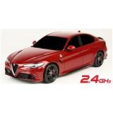R/C Alfa Romeo Giulia Quadrifoglio v merilu 1:14 na daljinsko vodenje 2,4GHZ,baterije priložene