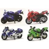 SUPER BIKE MOTORJI - SUZUKI, YAMAHA, KAWASAKI, HONDA, 1:32
