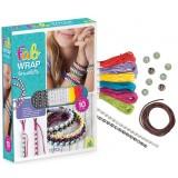 Zapestnice Fab Wrap - set za izdelavo zapestnic