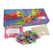 Začetni set RAINBOW LOOM® - ORIGINAL + 1200 gumic GRATIS