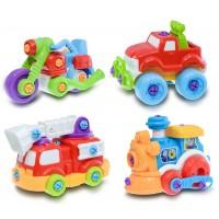 MINI MEHANIK vozila za sestavit (4 modeli)
