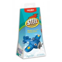 Letalo Steel Army-modelirna pena-plastelin
