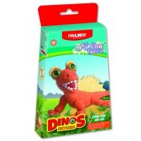 Dinozaver oranžen, Dinos return-modelirna pena-plastelin