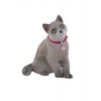 Bullyland Ruska modra mačka 7cm