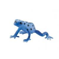 Bullyland Poison dart Frog  MODRA ŽABA 6cm