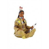 Bullyland indijanec s tomahawkom, 6 cm