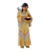 Bullyland Indijanka, 9,5 cm