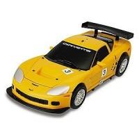 Transformer ROADBOT Chevrolet Corvette  z lučkami; POŠKODOVANA EMBALAŽA
