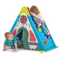 Igralo FEBER Play & Fold Activity House 3v1- zložljiva hiša za aktivnosti