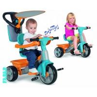 Tricikel z glasbo in dodatki za fante - FEBER