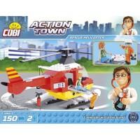 Kocke Cobi reševalni helikopter