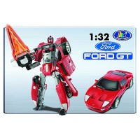 Transformer ROADBOT FORD GT, 1:32 z lučkami