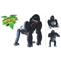 BLOCO sestavljiva igrača GORILA (primati sveta)