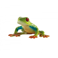 Bullyland Red-eyed tree frog, 6 cm