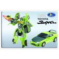 Transformer ROADBOT Toyota Supra, 1:32 z lučkami